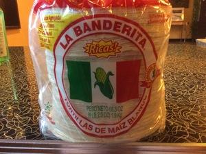 Tortillas—La Banderita Blanco
